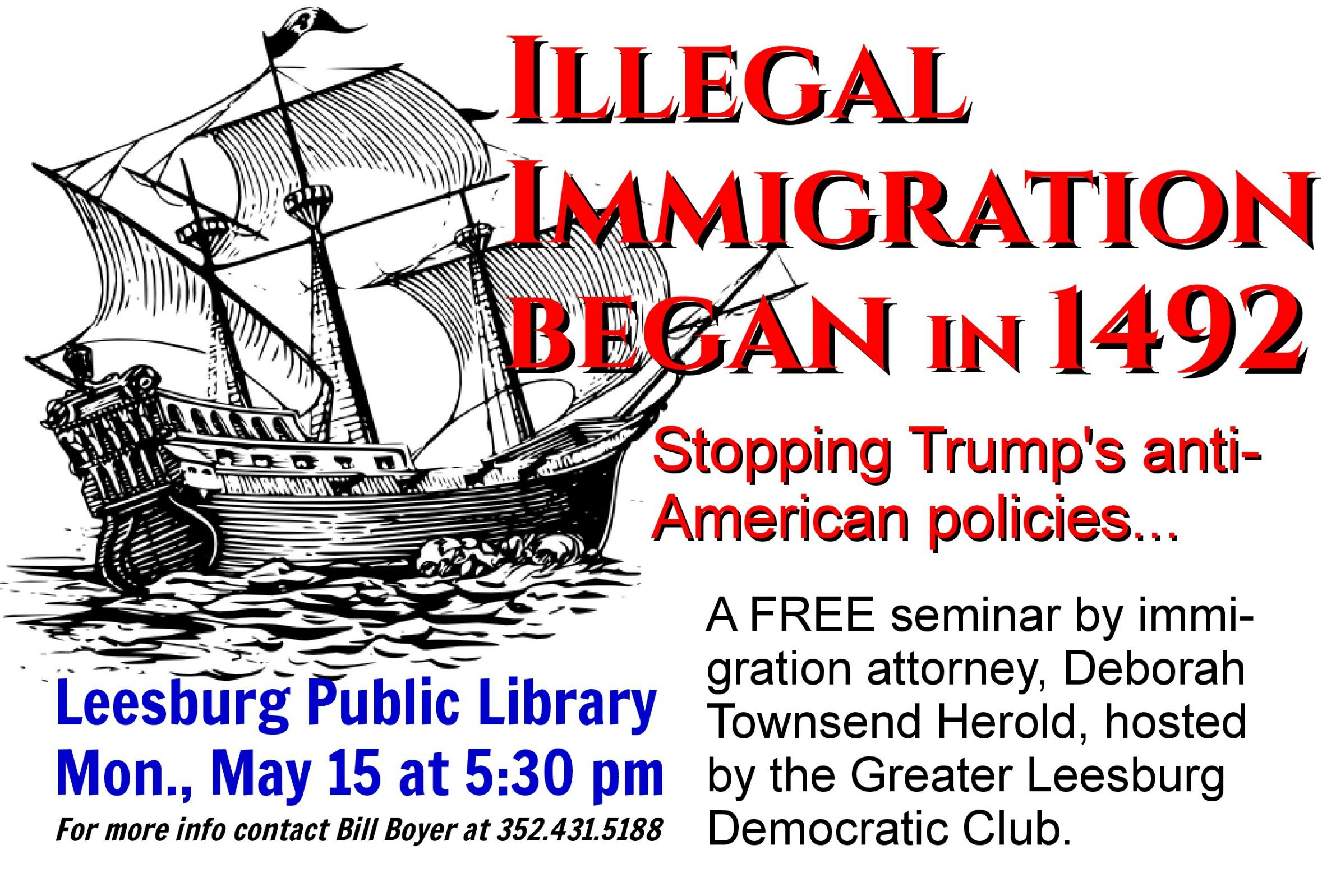 Illegal Immigration Began in 1492: Stopping Trump's Anti ...