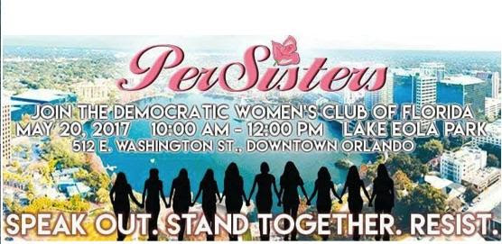 Join the first DWCF STATEWIDE PerSisters RALLY: May 20th at Lake Eola