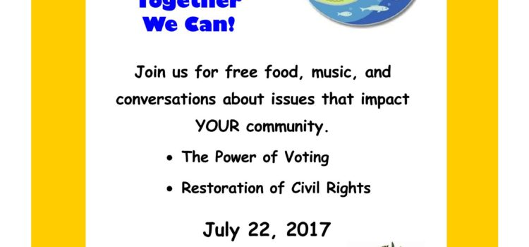 Lake County Democratic Caucus: Empowering Our Community @ Hickory Point July 22, 2017