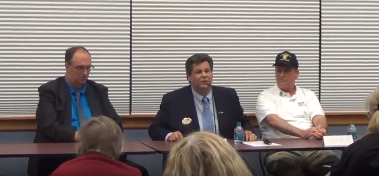 The 11th District Congressional Democratic candidates – Dave Koller, Ron Reid, Jim Henry Answer Questions at Forum [VIDEO]