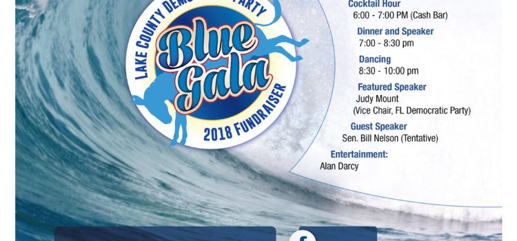 Catch the Blue Wave with the Lake County Democratic Party!! April 6th at 6pm