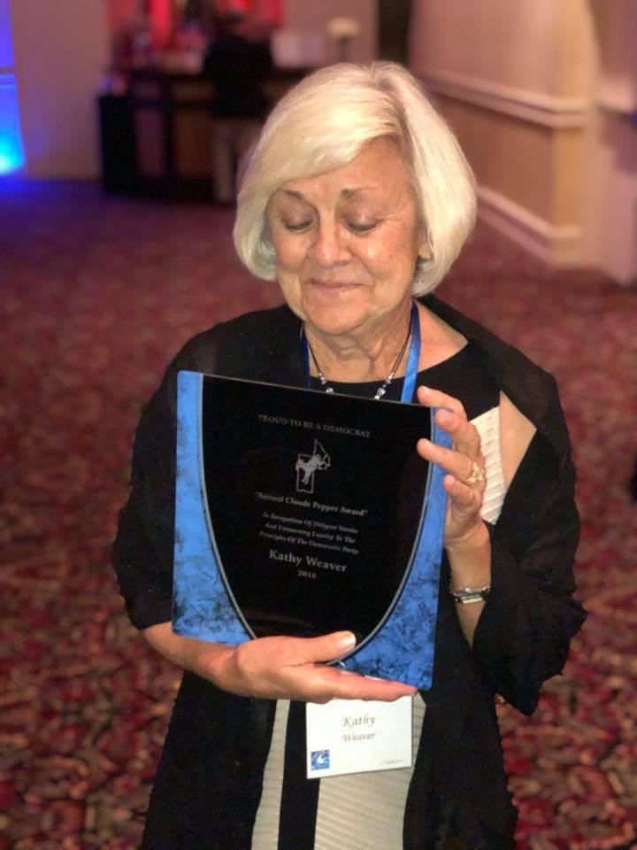 Kathy Weaver- 2018 Claude Pepper Award Winner