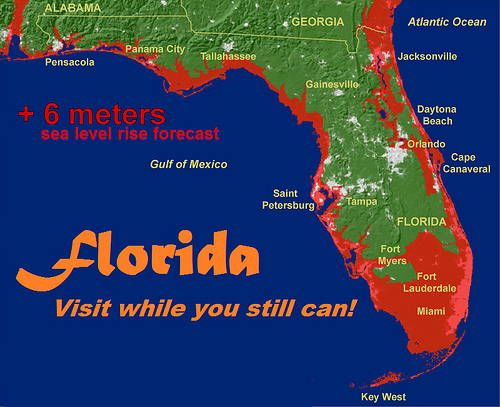 Climate Map Of Florida.From The Left The Daily Commercial Florida Is Ground Zero For